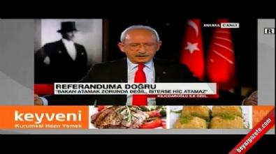 Kemal Kılıçdaroğlu: Yeni sistemde hükümet yok, bakanlar yok