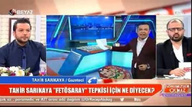Tahir Sarıkaya: Galatasaray taraftarından özür diliyorum