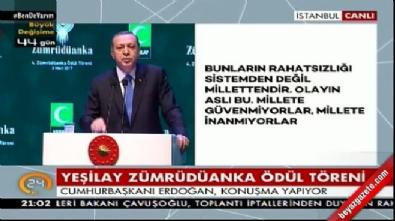 Cumhurbaşkanı Erdoğan: Ne yaparsanız yapın avucunuzu yalarsınız