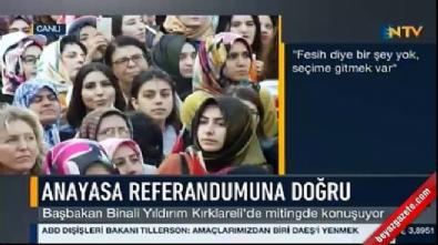 ataturk - Başbakan Yıldırım: Kılıçdaroğlu 82'de kalmışsın, artık uyan