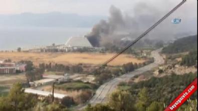 İzmir'de 5 yıldızlı otelde yangın