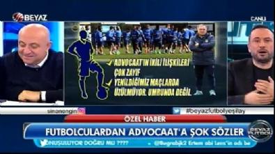 fenerbahce - Futbolculardan Advocaat'ta şok sözler