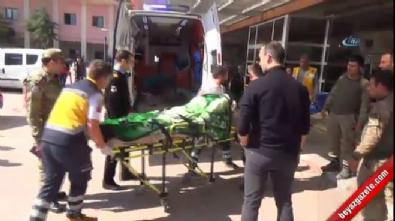 PYD'nin havanlı saldırısında 4 asker yaralandı