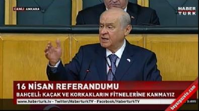 Devlet Bahçeli: Evet yüz karası CHP'ye derstir