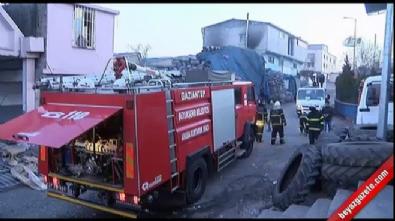 Sanayi sitesinde patlama... Ortalık savaş alanına döndü