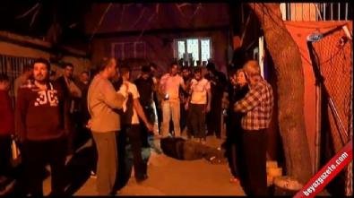 Adana'da yakalanan hırsız feci şekilde dayak yedi