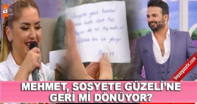 Esra Erol'da - Mehmet'ten Bahar'ı heyecanlandıran mesaj ve hediye