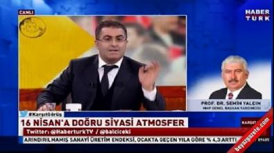 MHP'li Semih Yalçın'dan Balçiçek İlter'e tepki