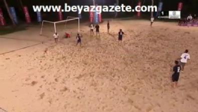 Acun Medya Survivor 2017 yarışmacıları futbol maçının golleri