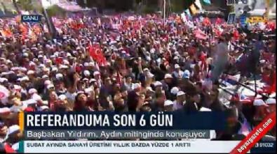 Başbakan Yıldırım: İnşallah pazar günü Türkiye'nin ufkunu aydınlatacağız