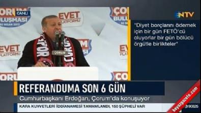 Cumhurbaşkanı Erdoğan: Bekledim denize dökerler diye ama gelen giden olmadı