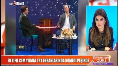 En tıfıl Cem Yılmaz TRT ekranlarında komedi peşinde