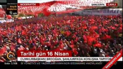Cumhurbaşkanı Erdoğan: Bir referandum da onun için yaparız
