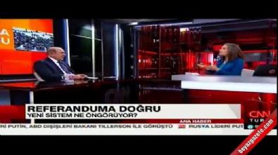 Burhan Kuzu'dan Nevşin Mengü'ye: Ben böyle program görmedim
