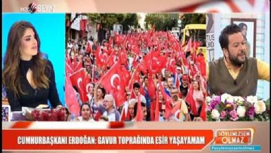 bircan ipek - Erdoğan: Gavur toprağında esir hayatı yaşayamam