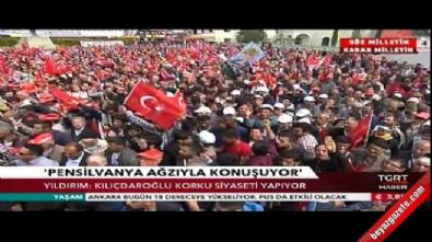 Yıldırım: Kılıçdaroğlu korku siyaseti yapıyor