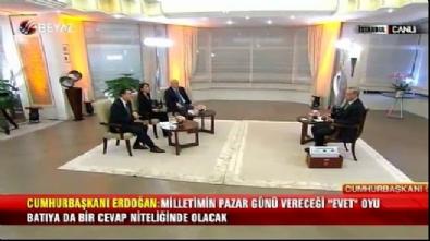 cumhurbaskani - Cumhurbaşkanı Erdoğan: Merkel bizzat istedi