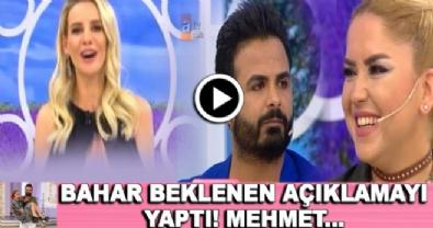 ali ozbir - Esra Erol'da Bahar Mehmet aşkı tamamen bitti mi? İşte beklenen açıklama