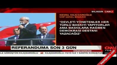 Kılıçdaroğlu'ndan seçmenlere 'konken' uyarısı