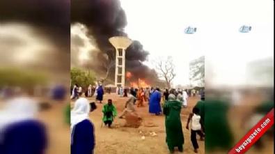 Senegal'de katliam gibi yangın