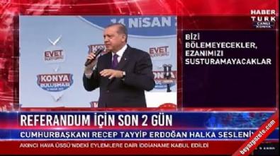 cumhurbaskani - Cumhurbaşkanı Erdoğan'dan eyalet sistemi açıklaması