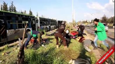 Suriye'de yarım konvoyuna saldırı