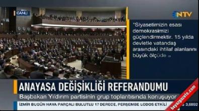 16 nisan halk oylamasi - Başbakan Yıldırım: Sözlerimiz maksadını aşmış olabilir