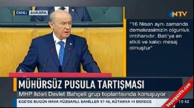 Devlet Bahçeli'den Fatih Portakal'a tepki