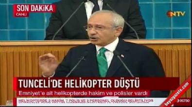 Kılıçdaroğlu parti grubunda konuştu