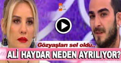 Esra Erol'da Ali Haydar'ın vedası herkesi ağlattı!