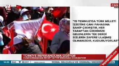 Erdoğan'dan İsviçre'deki pankarta sert tepki