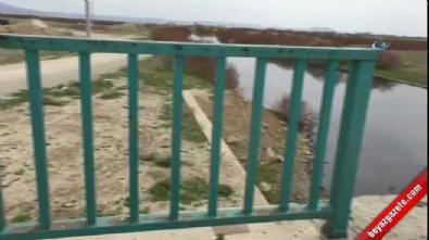 Köprünün korkuluklarını çaldılar