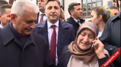 cumhurbaskani - Başbakan Yıldırım vatandaşı Erdoğan'la görüştürdü
