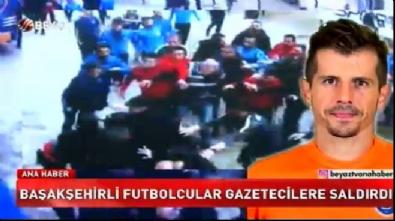 Başakşehir futbolcusu Emre Belözoğlu maç çıkışı gazetecilere saldırdı!
