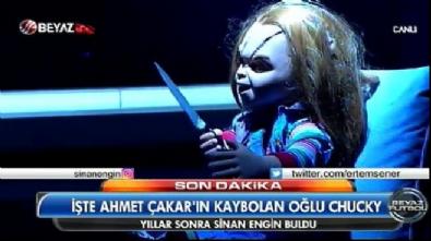ahmet cakar - Ahmet Çakar'ın oğlu stüdyoda