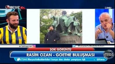 beyaz futbol - Koparan 'Goethe' muhabbeti