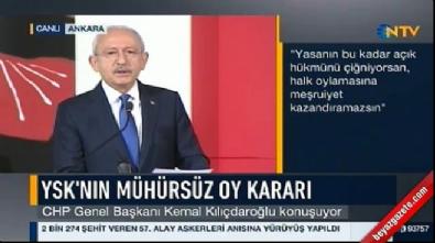 Kılıçdaroğlu'ndan YSK hakimlerine ağır sözler