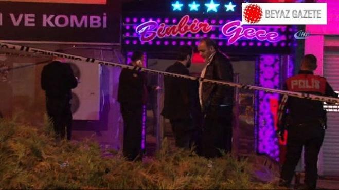 silahli saldiri - Ankara'da gece kulübüne kalaşnikoflu saldırı!