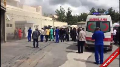 Diyarbakır Dicle Üniversitesi Tıp Fakültesi Hastanesi'nde yangın!