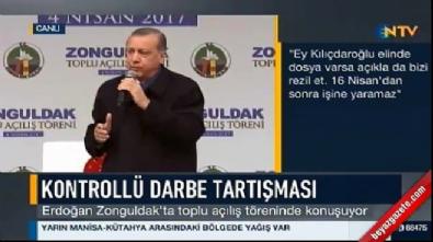 Erdoğan'dan Kerkük'te asılan bayrağa tepki