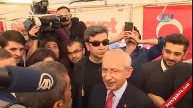 chp - Kılıçdaroğlu'dan 'evet' çadırına ziyaret