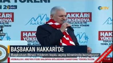 Başbakan Yıldırım: PKK'lıların, FETÖ'cülerin canına okuyacağız