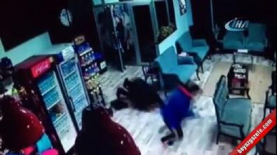 Beyoğlu'nda spor salonu cinayeti kamerada