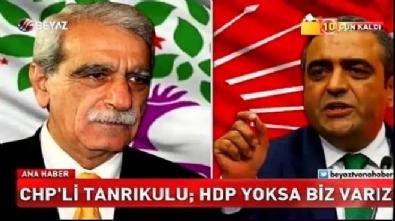 CHP'li Sezgin Tanrıkulu: HDP yoksa biz varız