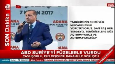 Cumhurbaşkanı Erdoğan: Katil Esad devlet terörü uyguluyor