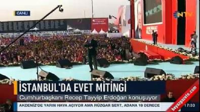 Erdoğan: Amerika tarihi boyunca 17 başkanla yönetilmiş bizde 48 hükümet değişti