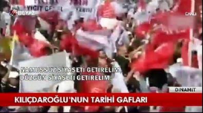 Kemal Kılıçdaroğlu'nun tarihi gafları (vtr)