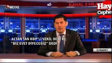 Sinan Oğan: HDP'liler Evet diyecek (vtr)