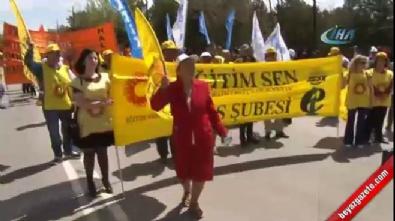 Sivas'ta 1 Mayıs kutlamalarına katılım düşük oldu