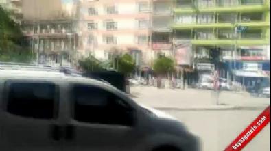 Konya'da korku dolu anlar